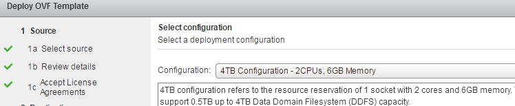 Data Domain Virtual Edition – installation and integration