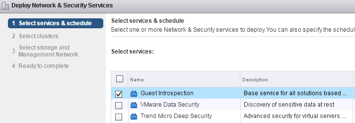 Configure Trend Micro Deep Security with VMware NSX for