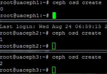 Installing a Ceph Jewel cluster on Ubuntu LTS 16 using ZFS |