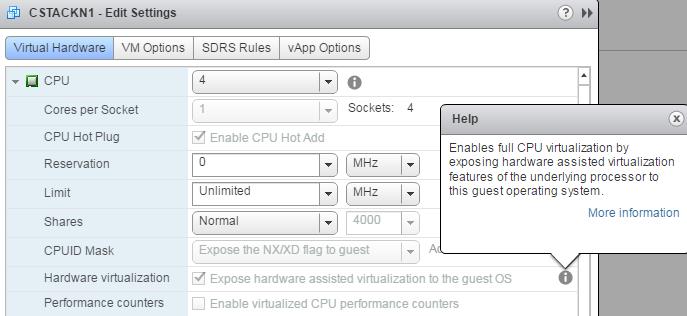 Nested KVM in VMware ESXi |